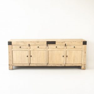 Elm 4 Door 4 Drawer Buffet