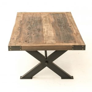 Elm metal coffee table