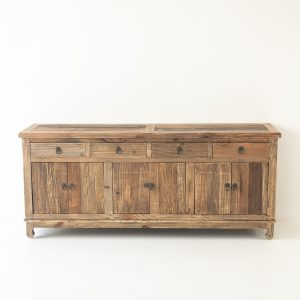 Fir 6 Door 4 Drawer Buffet