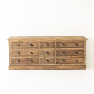 Fir 9 Drawer Buffet