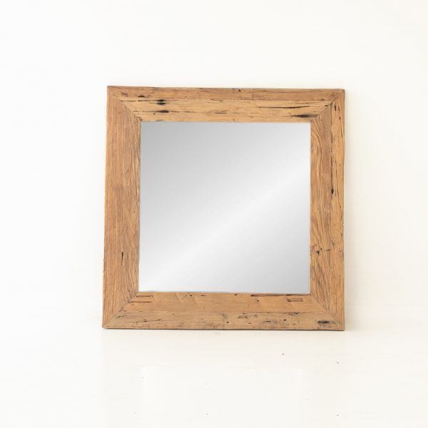 Reclaimed Teak mirror 1 x 1m