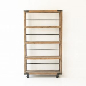 Small Industrial Bookcase