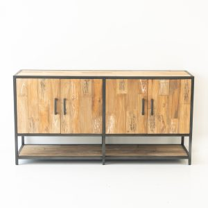 Teak Fero 4 Door Buffet