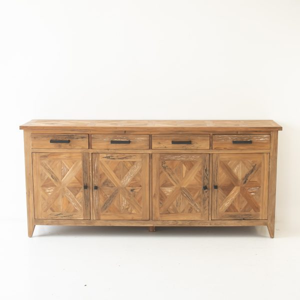 Teak Mozik 4 Door Buffet