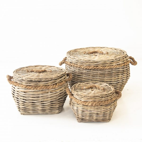 Rope Baskets _ 3